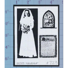 Wedding Pictures Unmounted Stamp
