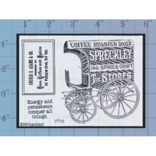 Coffee Wagon Unmounted Stamp