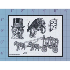 Circus Unmounted Stamp