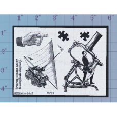 Complicate Simplicity Unmounted Stamp