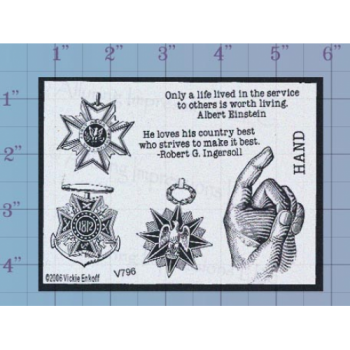 A Life Lived Unmounted Stamp