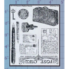 Postcards Unmounted Stamp