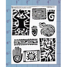 Art Elements Unmounted Stamp