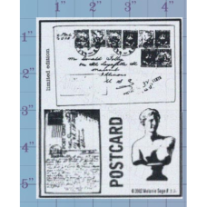 Post Cards Unmounted Stamp