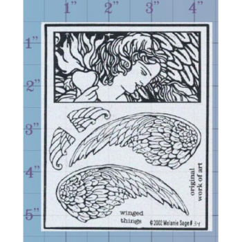 Winged Things Unmounted Stamp