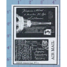 Post Card Negatives Unmounted Stamp