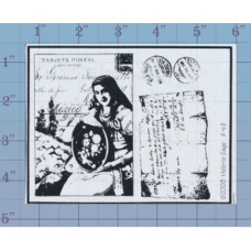 Post Unmounted Stamp