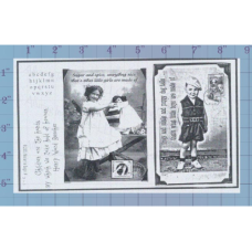 Take Hold of Heaven Unmounted Stamp