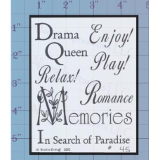 Drama Quees Unmounted Stamp