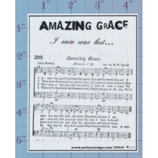 Amazing Grace Unmounted Stamp