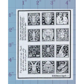 Zodiac Unmounted Stamp