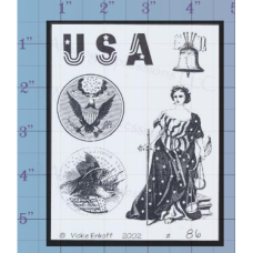 USA Unmounted Stamp