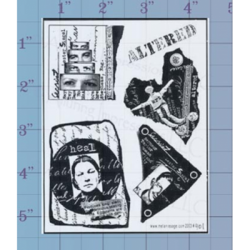 Altered Unmounted Stamp