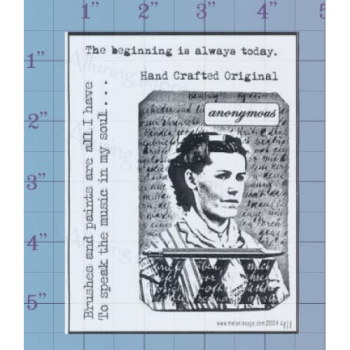 The Beinning Unmounted Stamp