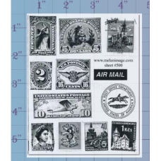 Air Mail Unmounted Stamp