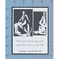 Being Good Unmounted Stamp
