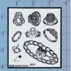Rings Unmounted Stamp