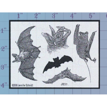 Bats Unmounted Stamp