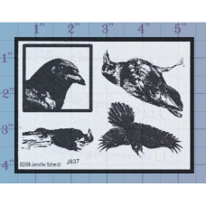 Crows Unmounted Stamp
