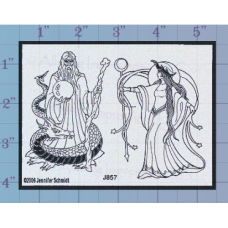 Wizard Unmounted Stamp