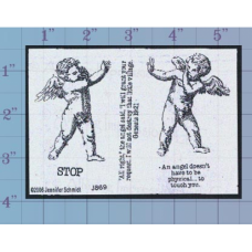 Cherubs Unmounted Stamp