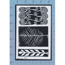 Branch Unmounted Stamp