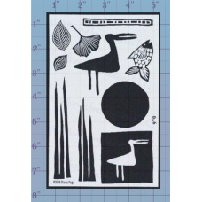Crane and Reeds Unmounted Stamp