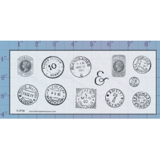 Post Marks Unmounted Stamp