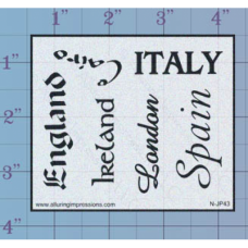 Countries Unmounted Stamp