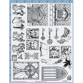 Castle Doors Unmounted Stamp