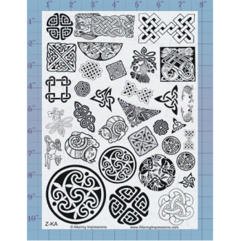 Celtic Accents Unmounted Stamp