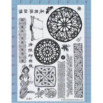 Borders and Medallions Unmounted Stamp