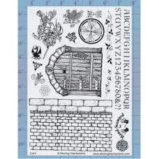 Castle Wall Unmounted Stamp