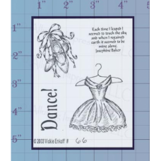 Dance Unmounted Stamp