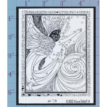Angel Unmounted Stamp
