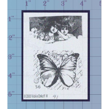 Butterfly Unmounted Stamp