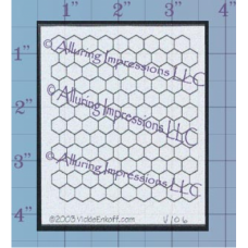 Chicken Wire Unmounted Stamp