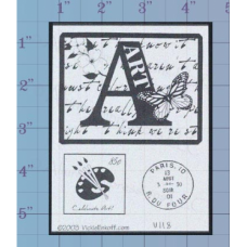 Art Unmounted Stamp