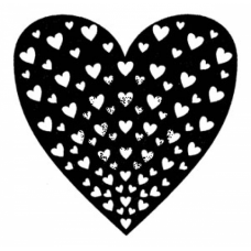 All Heart Cling Stamp