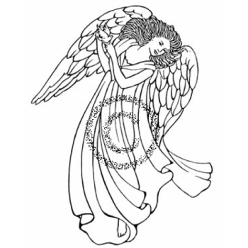 Angel Cling Stamp