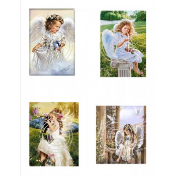 Angels 3, Vintage Hues Acetate