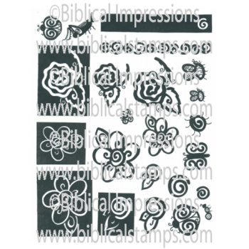 Flower Blocks Unmounted Stamps