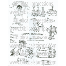 Birthday Unmounted Stamps
