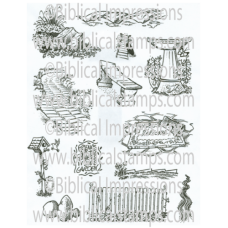 Picket Fence Unmounted Stamps