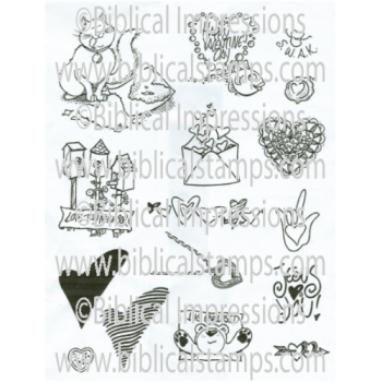 SWAK Unmounted Stamps