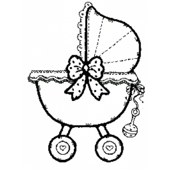 Baby Carriage, Art Acetate
