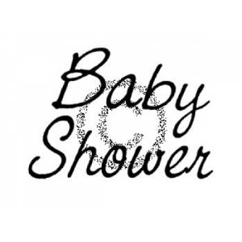 Baby Shower Cling Stamp