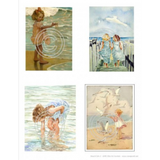 Beach Girls 1, Vintage Hues Acetate
