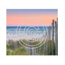 Beach Horizon, Vintage Art Acetate