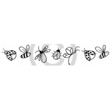 Bee Line Cling Stamp